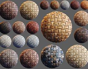 game-ready 20 Wooden 3D Panel Materials - 03 - PBR - 4K
