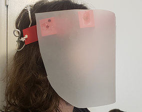 Quick and Dirty Cardstock Face Shield 3D