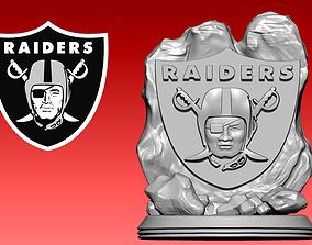 3D print model Statue Raiders - American football - NFL