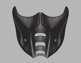 Sub-Zero mask from Mortal Kombat 9 X 11 3D print model