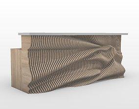Parametric Reception Table 3D