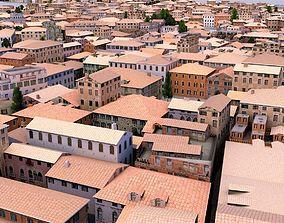 3D asset Venice-Like Italian City Town LOWPOLY
