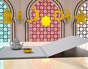 3D model Ramadan Kareem - Motion Video