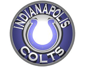 Indianapolis Colts in a circle 3D model