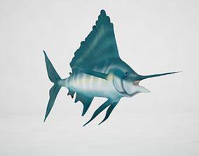 3D model Sailfish