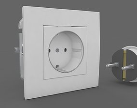 3D Plug and Socket Detailed