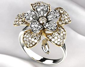 3D printable model Flower Golden Ring