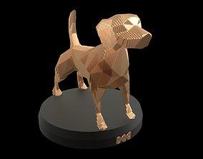3D model Parametric Dog sculpture