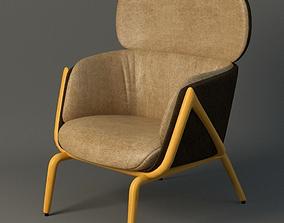 3D model Elysa Chair