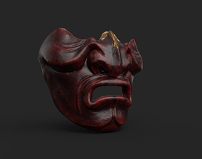 3D printable model Kabuto Mempo Mask