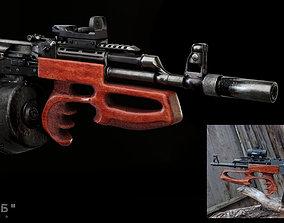 Bullpup AK Krab 3D asset