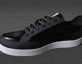 3D asset Calvin Klein Mens Izar Leather Sneakers