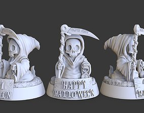 3D printable model death on Halloween
