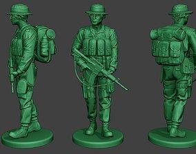 Modern Jungle Soldier Walk2 MJS1 3D print model