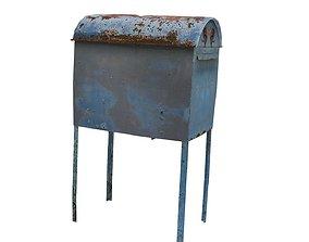 3D model Post Box 01 02 D