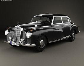 Mercedes-Benz 300 W186 Limousine 1951 3D