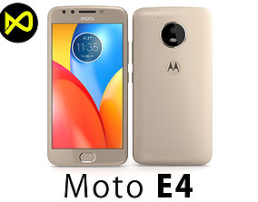 Motorola Moto E4 USA Gold 3D model