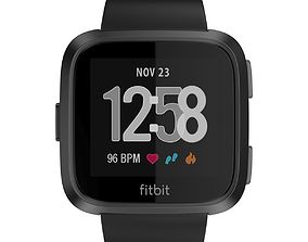 3D Fitbit Versa Black