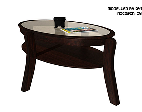 3D model Coffee Table Type 1