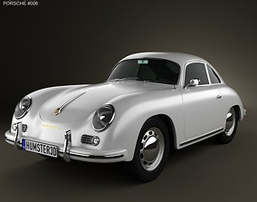 Porsche 356A coupe 1959 3D