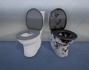 Toilet Common 3D asset