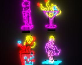 3D Neon 3