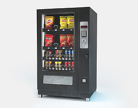 realtime Vending machine Low-poly 3D model