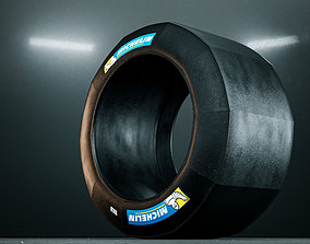 Michelin Racing Slick Tires 3D
