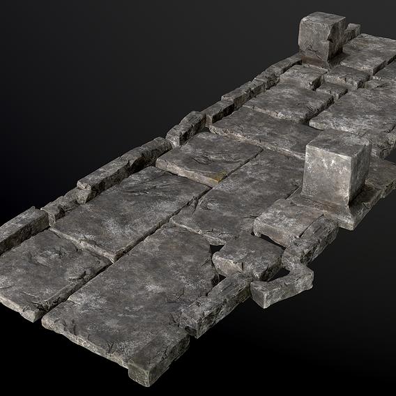 Stones for game scene