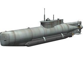 3D model U XXVII Seehund