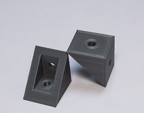 3D print model 90 degree bracket with support