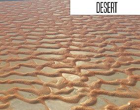 Desert 75x75 km 3D model
