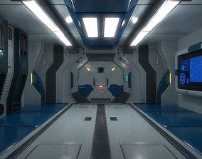 sci fi interior 02 3D asset