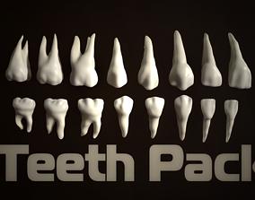 3D model Teeth Pack