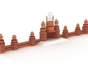 3D model Castle intro