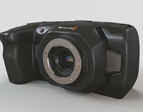 3D Blackmagic Pocket Cinema Camera