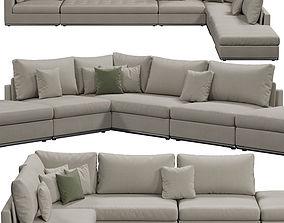 Giulio Marelli Oliver sofa corner 3D model