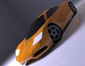McLaren F1 1993 3D asset