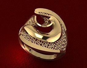 RING 77 3D printable model fashion-ring