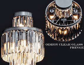 1920s Odeon Clear Glass 3D