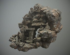 3D Cave Entrance for Games