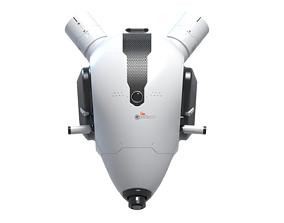 3D model robotic rat head Sci-Fi concept