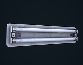 3D model Fluorescent Light