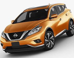 Nissan Murano 2015 3D model