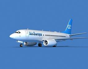 Boeing 737 MAX 7 Air Europa 3D model