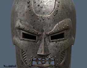 Dr Doom Mask or Helmet 3D printable model