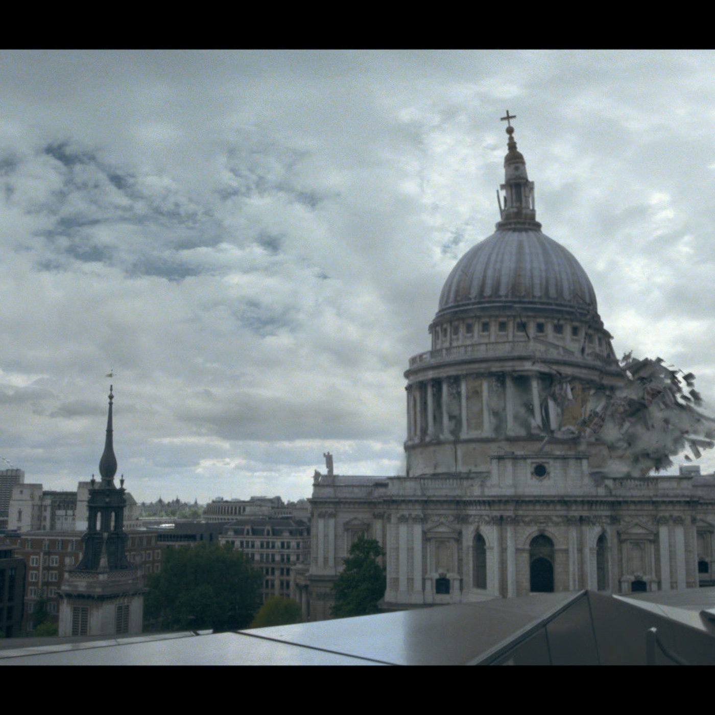 St Paul Cathedral Collapse by Fabio Frangione