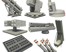 NAVAL WEAPON AND MISSILE SYSTEMS 3D model