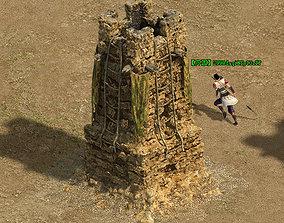 Barracks - beacon 01 3D
