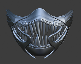3D print model Mileena custom female mask from Mortal 1
